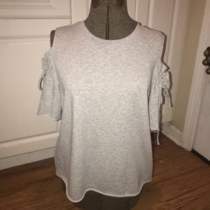 Lauren Conrad XXL Cold Shoulder Sweater